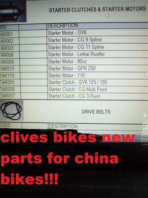 see catalog all chinese bike parts from a to z @clives bikes parts