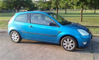 2005 Ford Fiesta 1.4i 3 door Trend