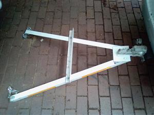 A-frame for towing Cars without Second Driver.