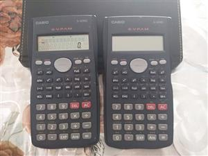 2 x Casio fx-82MS scientific calculators