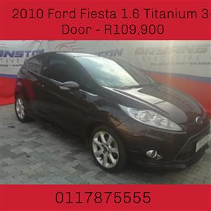 2010 Ford Fiesta 1.6 3 door Titanium