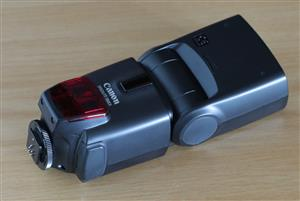 Canon 580 EX Flash with Flash Extender for sale