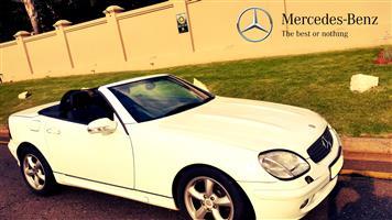2001 Mercedes Benz SLK 350