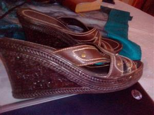 BROWN LADIES SHOES FOR SALE