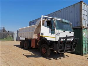Iveco 6x6 tipper truck