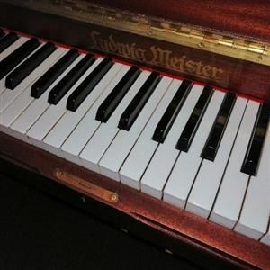 Refurbished Ludwig Meister Piano in Mahogany