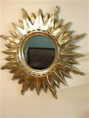 Mirror - sun design