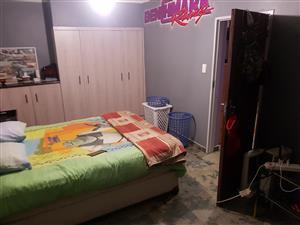 1 bedroom, lounge - open plan kitchen + bathroom to rent