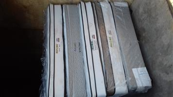 Various Restonic Queen Mattress and Base Sets