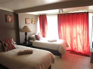 WINTER SPECIAL!! R499/NIGHT... SLEEPS 2. GREAT DEALS FOR STAYING LONGER