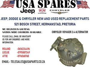 CHRYSLER VOYAGER 2.4 ALTERNATOR (FOR SALE)