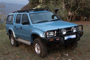2001 Toyota Hilux 3.0D 4D 4x4 Raider