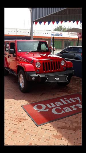 2014 Jeep Wrangler Unlimited WRANGLER UNLTD SAHARA 3.6L V6 A/T