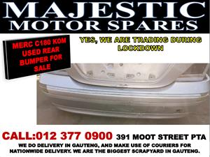 Mercedes benz C180 used rear bumper for sale