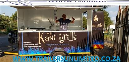 KASI GRILLS. TRAILERS UNLIMITED. BEST MOBILE KITCHENS.