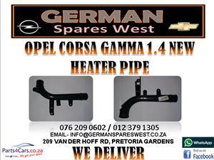 OPEL CORSA GAMMA 1.4 NEW HEATER PIPE FOR SALE