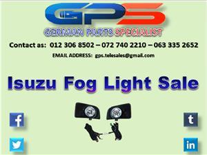Isuzu Fog Lights for Sale