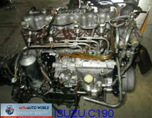 Imported used ISUZU RODEO/FASTER 2.0L 8V, C190 engines. Complete second hand used engine