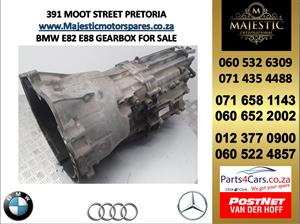 Bmw e82 E88 gearbox for sale