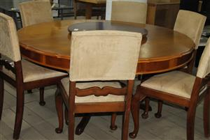 7 piece dining room suite S032276A #Rosettenvillepawnshop