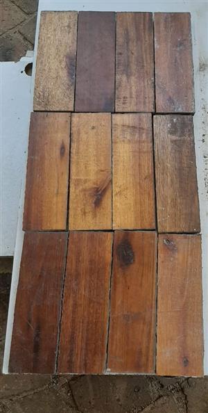 Parquet floor blocks
