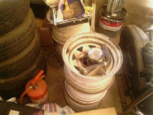 Toyota Steel Rims and Mags for Sale