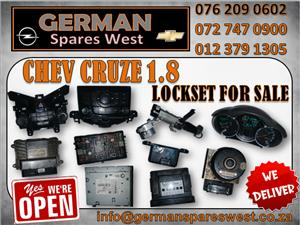 CHEV CRUZE USED LOCKSET FOR SALE