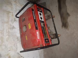 Ryobi 5.5 kva generator