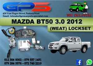 Used Mazda BT50 3.0 Drifter 2012 Lockset for Sale
