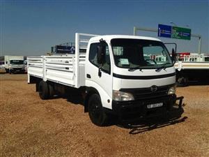 Hino 300 814 4.5 Ton Dropside Truck