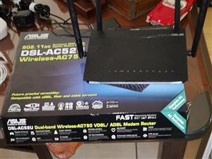 Asus ADSL / Fibre AC 750 Wifi Modem / Router