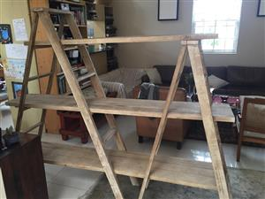 Modern Decor ladder display system / bookcase