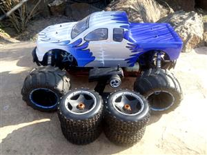 HSP 4WD Monster truck