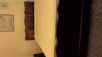 Imbuia bedroom suite