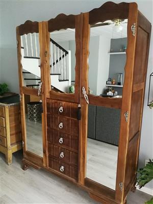 One of a kind Wardrobe Patio Cupboard