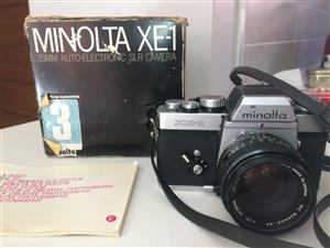 Minolta XE-1 Vintage Film Camera