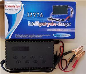 7A Battery Charger Intelligent Portable New