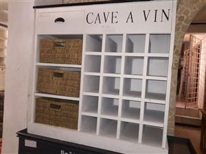 Imported Wine Cupboard