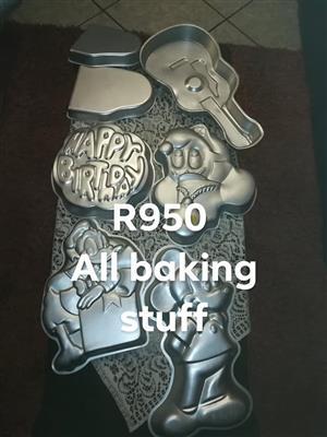 Baking stuff for sale