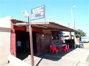 FULLY OPERATING TAVERN WITH LICENCE SOLD AS BUSINESS WITH ALL THE EQUIPMENT IN TEMBISA - ONLY CASH