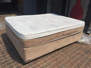 Queen size bed and base for sale