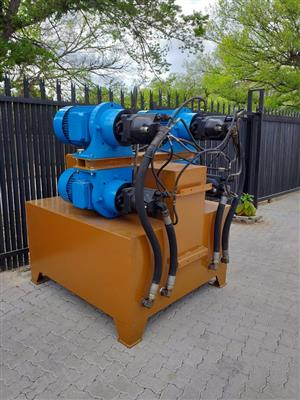hydraulic power pack, 60 kw..