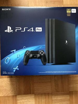 Sony PS4 pro 1tb sealed  1 year warranty