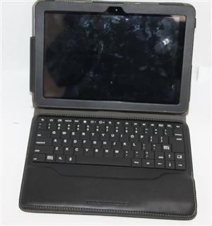 Samsung galaxy tab 2 10.1 with wireless keyboard ,cover and charger S032628A #Rosettenvillepawnshop