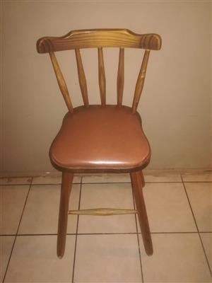 3 x neat bar chairs for sale