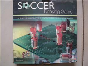 Soccer drinking game - incomplete for sale  Nigel