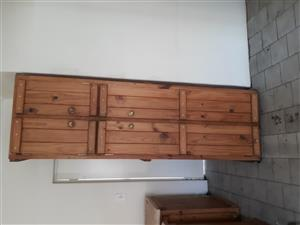 Kitchen cupboard, stove, sink and large bedroom cupboard for sale