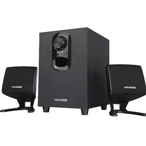 Microlab M108BT 2.1 Bluetooth Subwoofer Speaker With USB Port