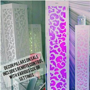 Decor Light Pillars on Sale