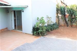 Lombardy East Bachelor room with toilet and shower for R2500 outside